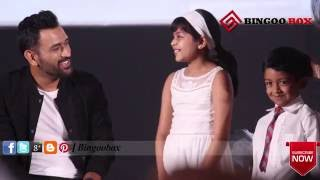 """MS.Dhoni Says """"Am Big Fan of your Dad"""" to Suriya's Son & Daughter - BB"""