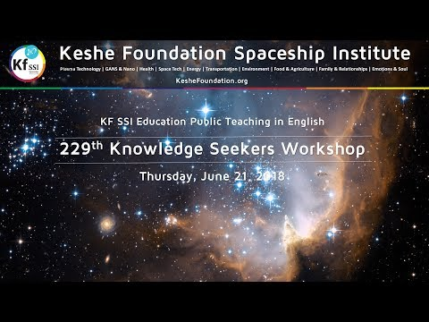 229th Knowledge Seekers Workshop - Thursday, June 21, 2018