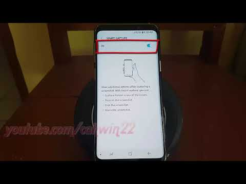 Samsung Galaxy S9 : How to Enable or Disable Smart Capture (Android Oreo)