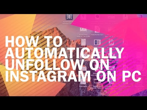 MASS UNFOLLOW Instagram-HOW TO UNFOLLOW PEOPLE WHO DON'T FOLLOW YOU BACK ON INSTAGRAM