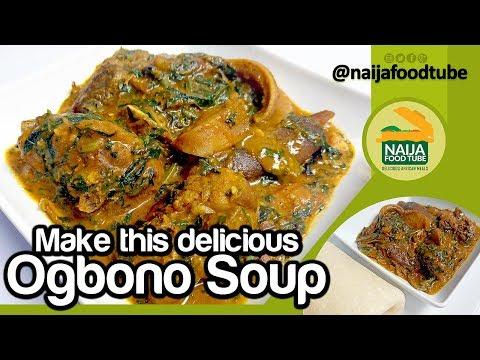 Ogbono Soup   Nigerian Food   NaijaFoodTube