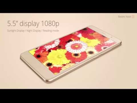 Xiaomi Redmi Note 3 Detailed Specifications