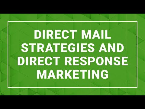 Direct Mail Strategies & Direct Response Marketing - Ford Saeks