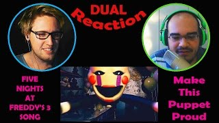 Make This Puppet Proud Dual Reaction!   Puppet Love   Five Nights At Freddy