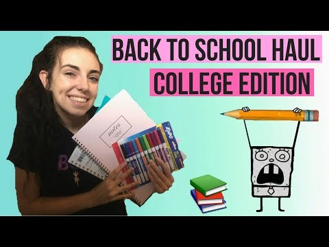 COME SHOP WITH ME // BACK TO SCHOOL HAUL 2017 (COLLEGE EDITION)