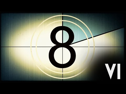 Film Leader Countdown - Old Movie Intro V1 (Colored) [Full-HD]