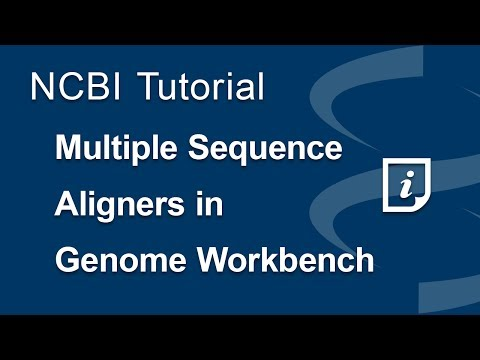 How to use Multiple Sequence Aligners in Genome Workbench