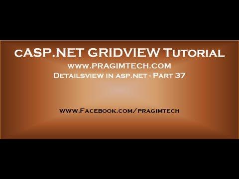 Detailsview in asp.net - Part 37