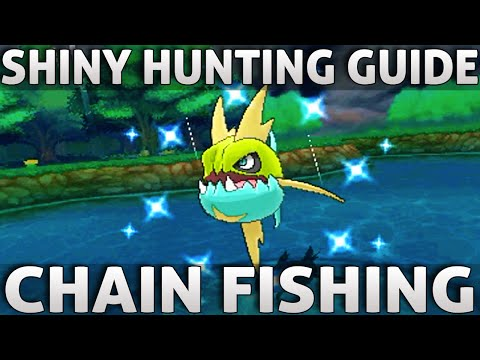 Pokemon ORAS: Shiny Hunting Guide | Chain Fishing (Omega Ruby Alpha Sapphire)
