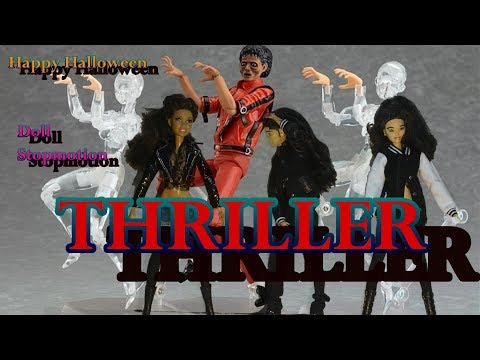 Michael Jackson ~ Thriller ~Dollswillbedolls~ stop motion dance video
