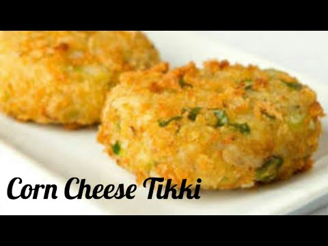 Potato Corn Cheese Tikki/ Quick Party Snacks / Simple and Easy Step by Step guide