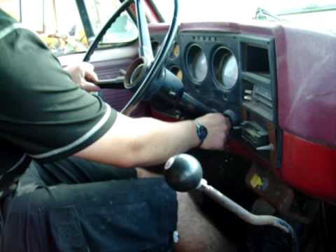 First Drive in The 1979 Chevy C70 427 Dump Truck