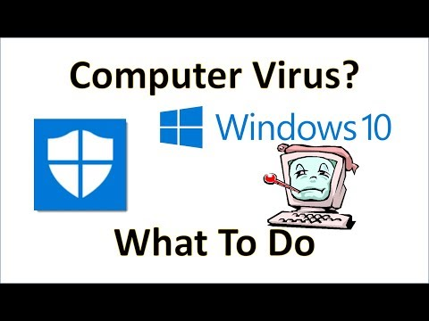 Computer Fundamentals - What To Do If Your Computer Gets a Virus