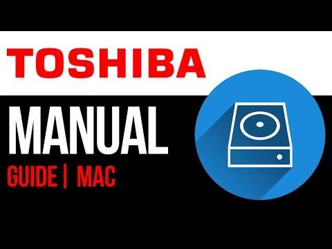 Toshiba external hard drive Set Up Guide for Mac 2019