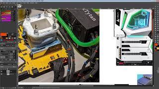 Asrock Z490 Aqua-OC memory layout vs retail Z490 Aqua