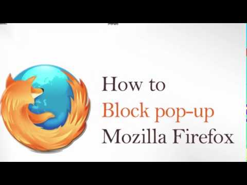 how to block popup in mozilla firefox - block all popups mozilla firefox,