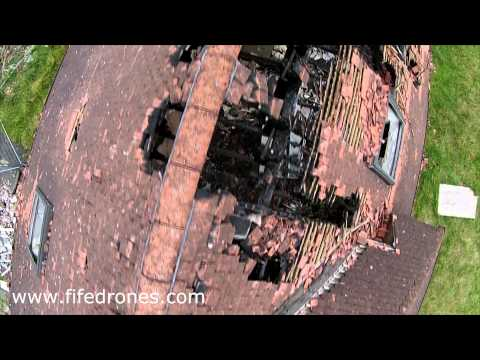 Drone Roof Damage Inspection