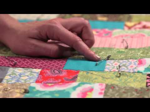 Quilty: Tying a Quilt—Quilting How-to