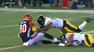 Ryan Shazier Injury! Carted Off Field! Possibly Paralyzed!#PrayForShazier