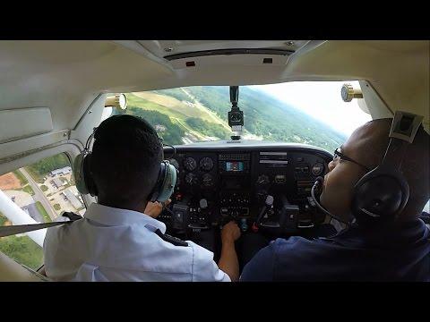 Flight Vlog - Commercial Pilot Hardest Maneuvers | ATC Audio