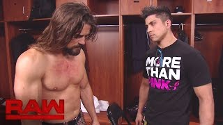Brian Kendrick asks TJ Perkins for a favor: Raw, Oct. 24, 2016