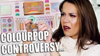"COLOURPOP HOLIDAY ""CONTROVERSY"" COLLECTION"