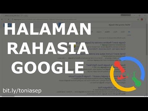 Halaman Rahasia Google !!! (Wajib Nonton)