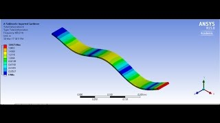 ANSYS WORKBENCH - MODAL ANALYSIS OF CANTILEVER BEAM - PakVim net HD