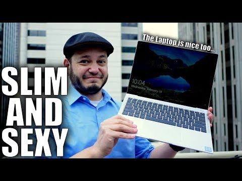Huawei MateBook X Pro First Look: Thinnest Laptop Bezels EVAR!