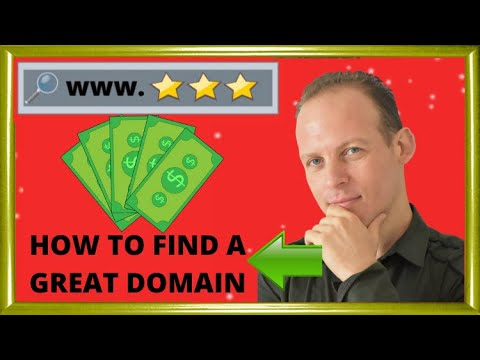 How To Find And Choose A Great Domain Name For A Website Or Blog