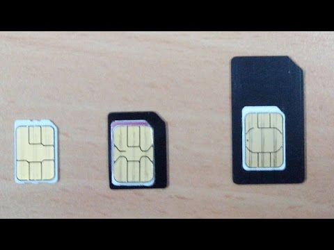 How to Use Nano SIM as a Micro SIM or Mini SIM in ANY Phone