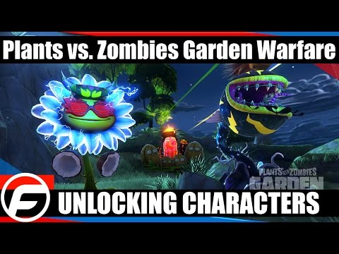 Plants vs. Zombies Garden Warfare How to Unlock Additional Characters