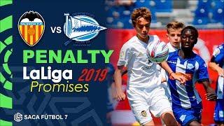 Penalty  Valencia CF vs Deportivo Alavés LaLiga Promises 2019