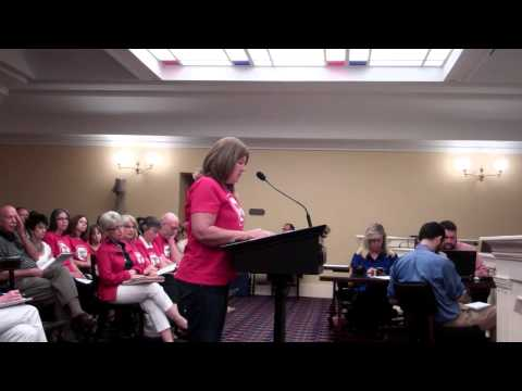 Rose Stechschulte on Common Core Repeal