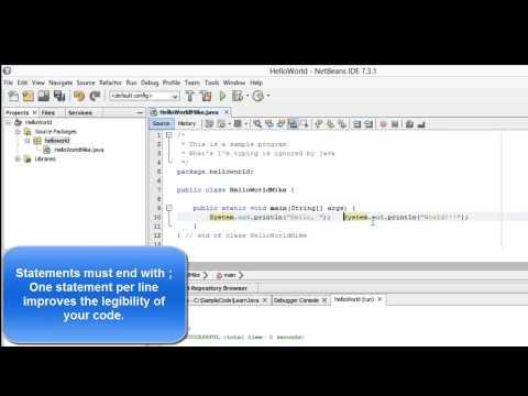 Learn Programming in Java - Lesson 01 : Java Programming Basics