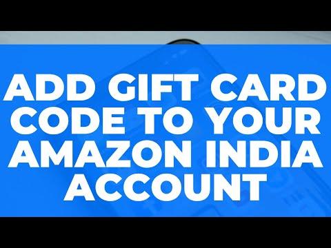 Redeem Amazon India Gift Card Code: Gift card ko Pay Balance mein Kaise Jodein?