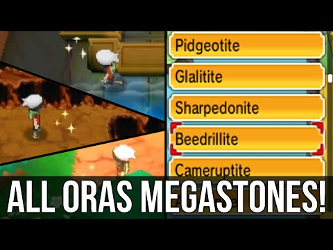 How to get ALL NEW ORAS Megastones in Omega Ruby and Alpha Sapphire!