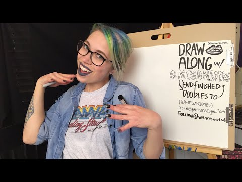 Draw Along With Me! #10 // Snarled Live | Snarled
