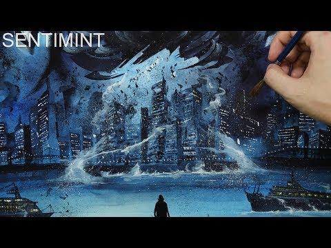 [Watercolor] Arrival / 1 Hour