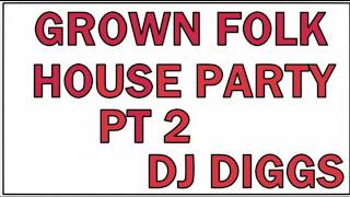 GROWN FOLK HOUSE PARTY....(INCLUDES CLASSIC ELECTRIC SLIDE, AND CAN