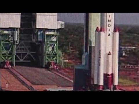 Britain rents Indian rocket for landmark launch of 5 satellites