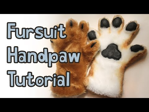 Fursuit Handpaw Tutorial