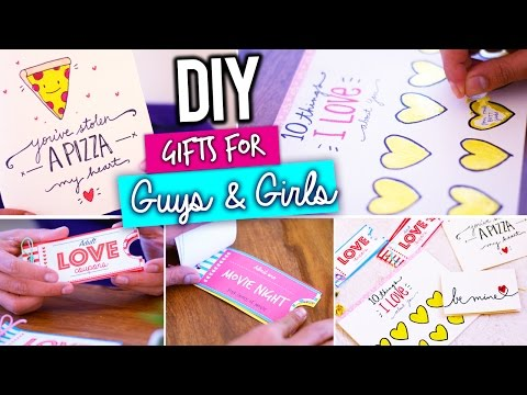 DIY: LAST MINUTE VALENTINE'S DAY GIFT IDEAS!!!!