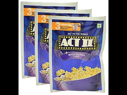 How To Make Act II Popcorn In A Kadai/Frying Pan In 2 Minutes?