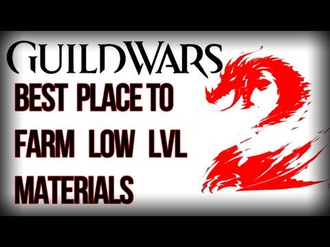 GW2-Best place to find jute and other materials.