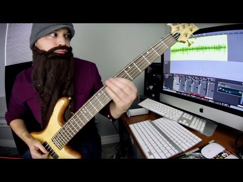All 16th Notes Song (bass playthrough)