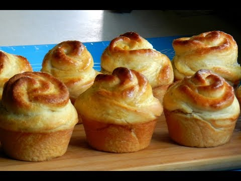 ROSE SWEET BUNS - Rose Shaped Bread Muffin