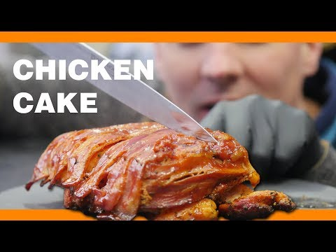 How to Cake Chicken & Bacon !!! Let's get Crazy 🤙😜  !!!