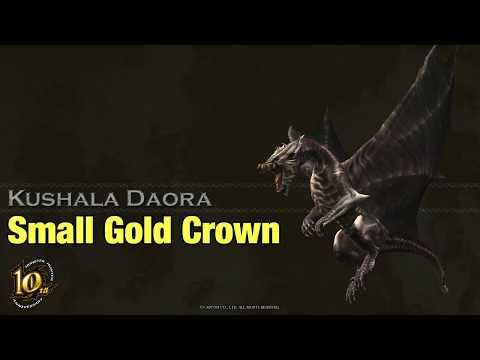 Kushala Daora - Small Gold Crown measurement - MHW