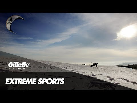Kiteboarding with Peter Martel | Gillette World Sport